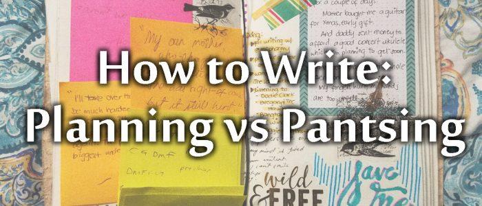 Planning vs Pantsing