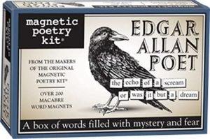 Poetry fridge magnets